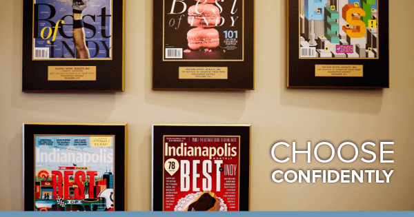 Dr. Mundy-Burgett has been voted by peers for several years in a row as one of the best dentists in Indianapolis in the Indianapolis Magazine | best dentist Indianapolis