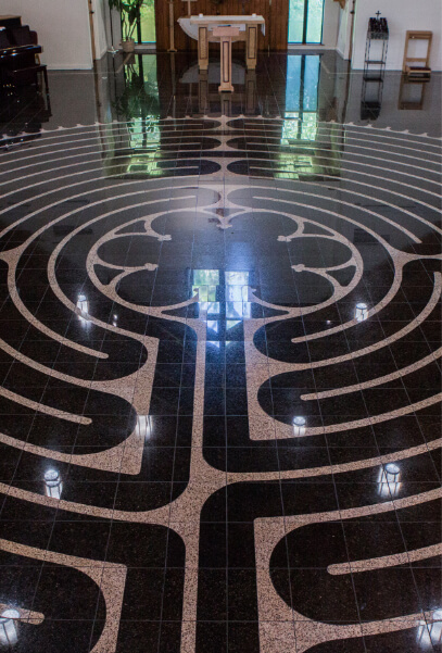 Labyrinths at the Duncan Center