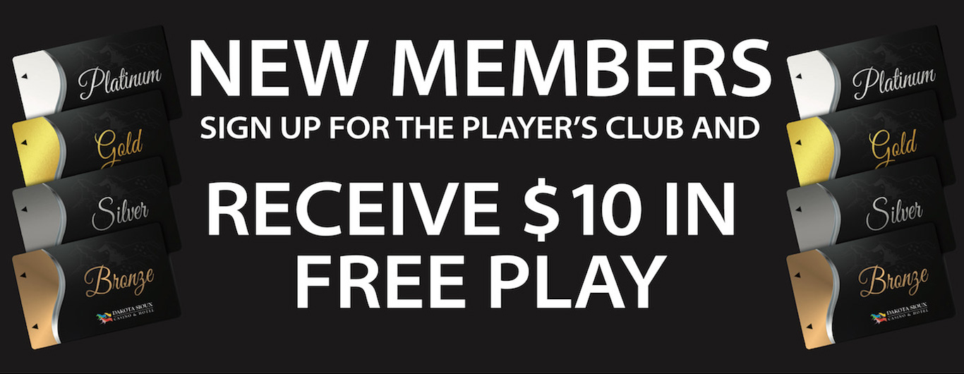Players Club New Members