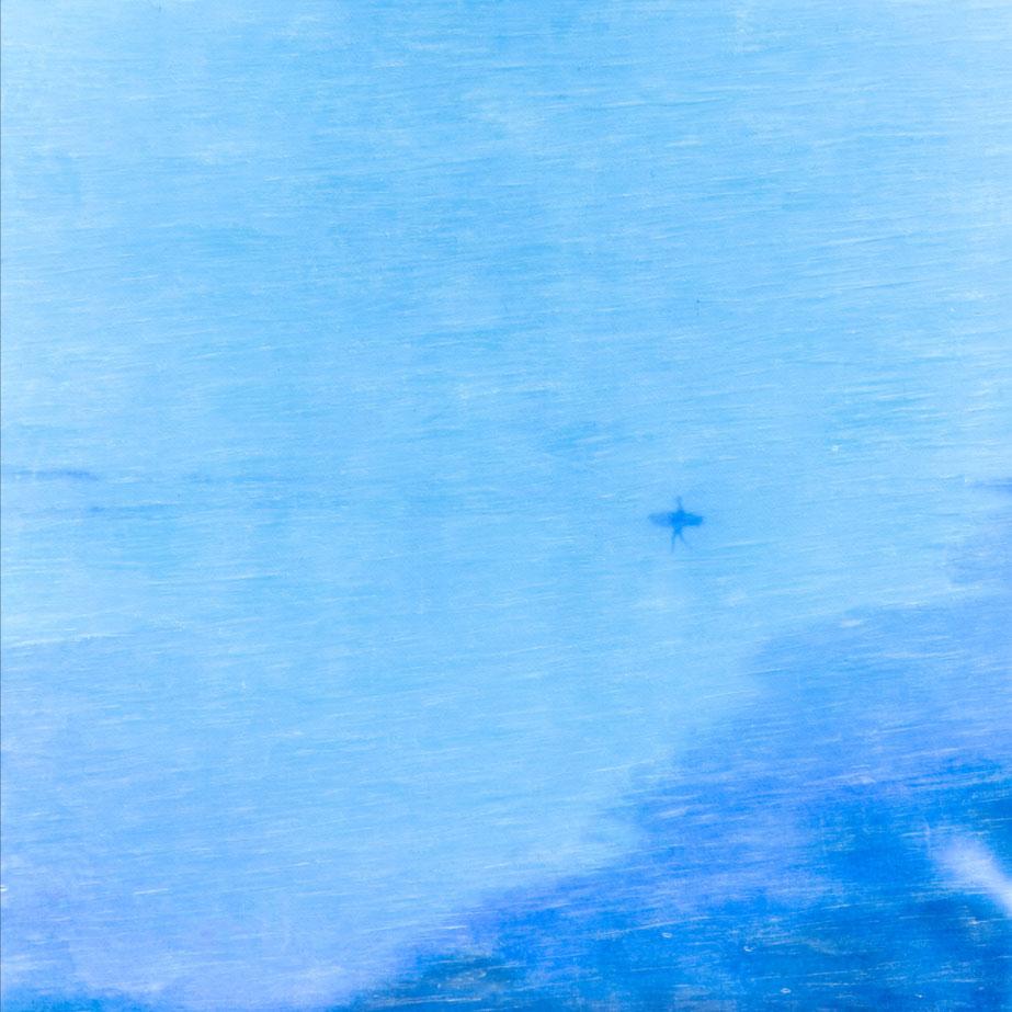Blue Surfer Apparition
