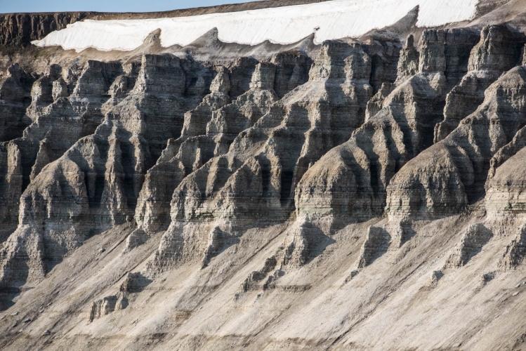 Cliffs, Mössberget, Hinloppenrenna, Svalbard