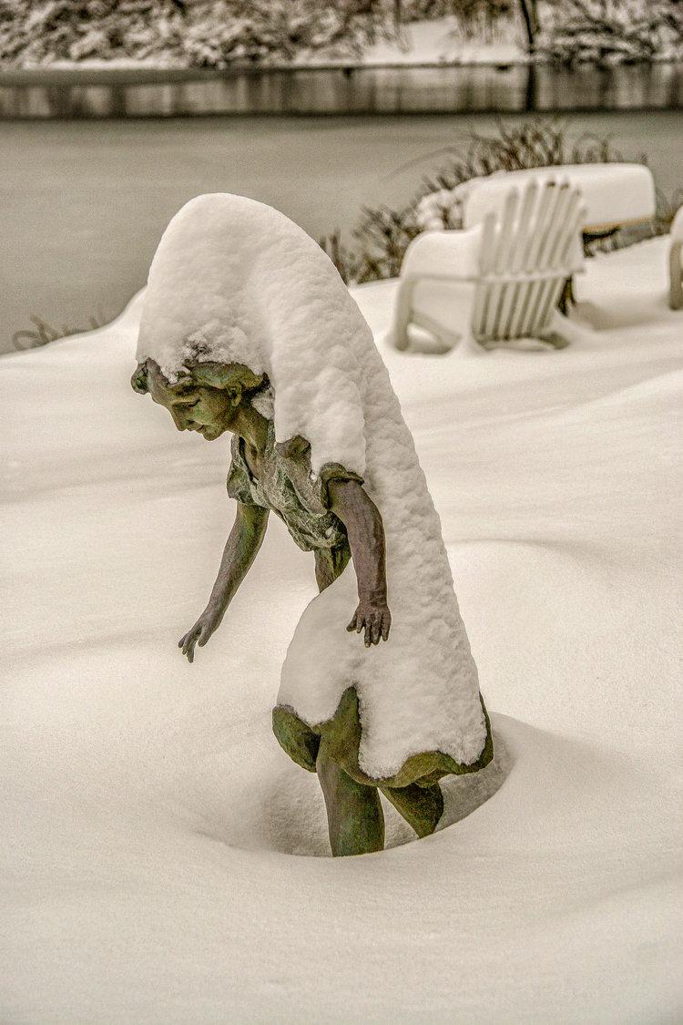 Burdened Snow Queen
