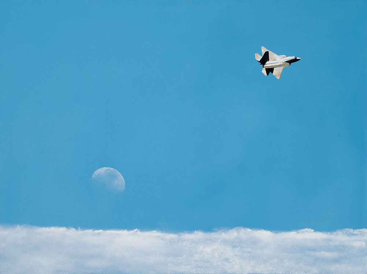 Cloud Bird (F-22 Raptor)