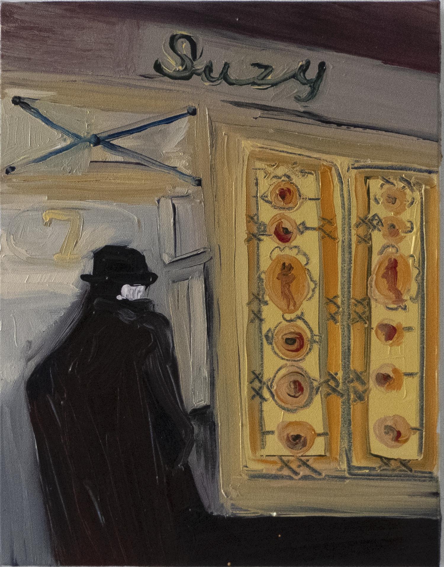 Brassaï Paris - L'Entrée de Chez Suzy (1930)