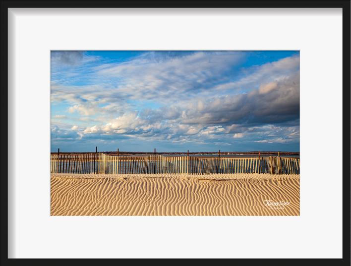 Cupsogue Beach Dune Sand Grooves by Robert Seifert