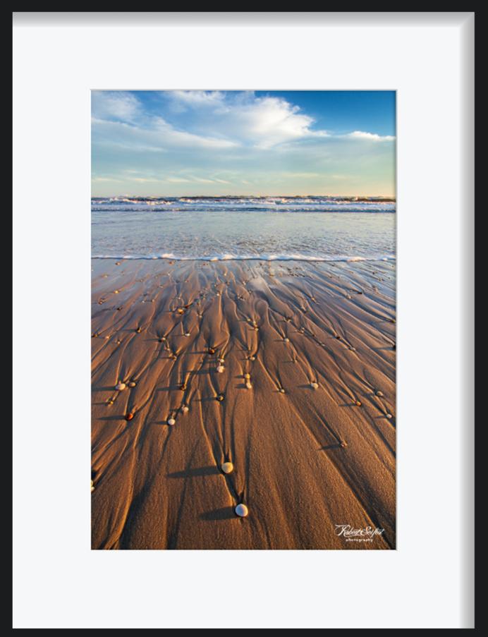 Pikes Beach Shorebreak Rocks by Robert Seifert