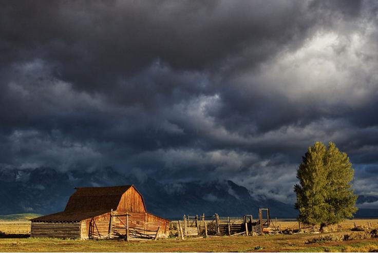 Teton Barn by Kevin Ferris