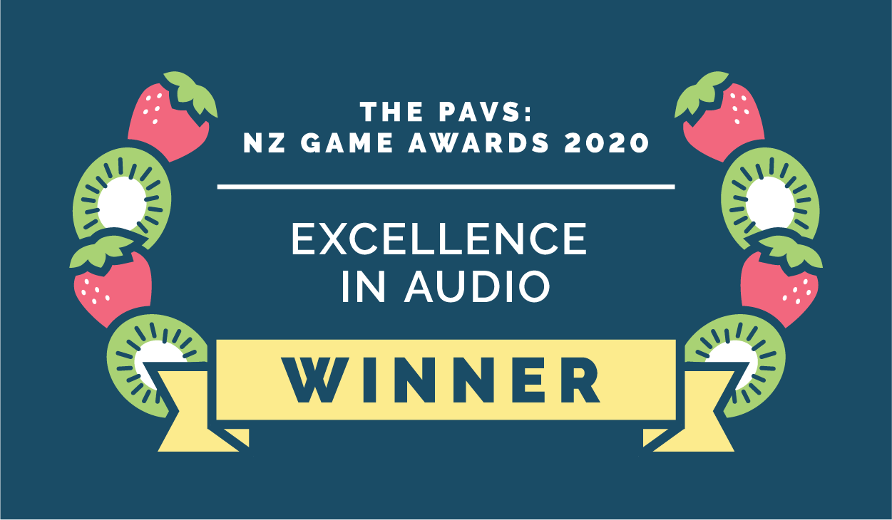 The Pavs: NZ Game Awards 2020 - Excellence in Audio Winner
