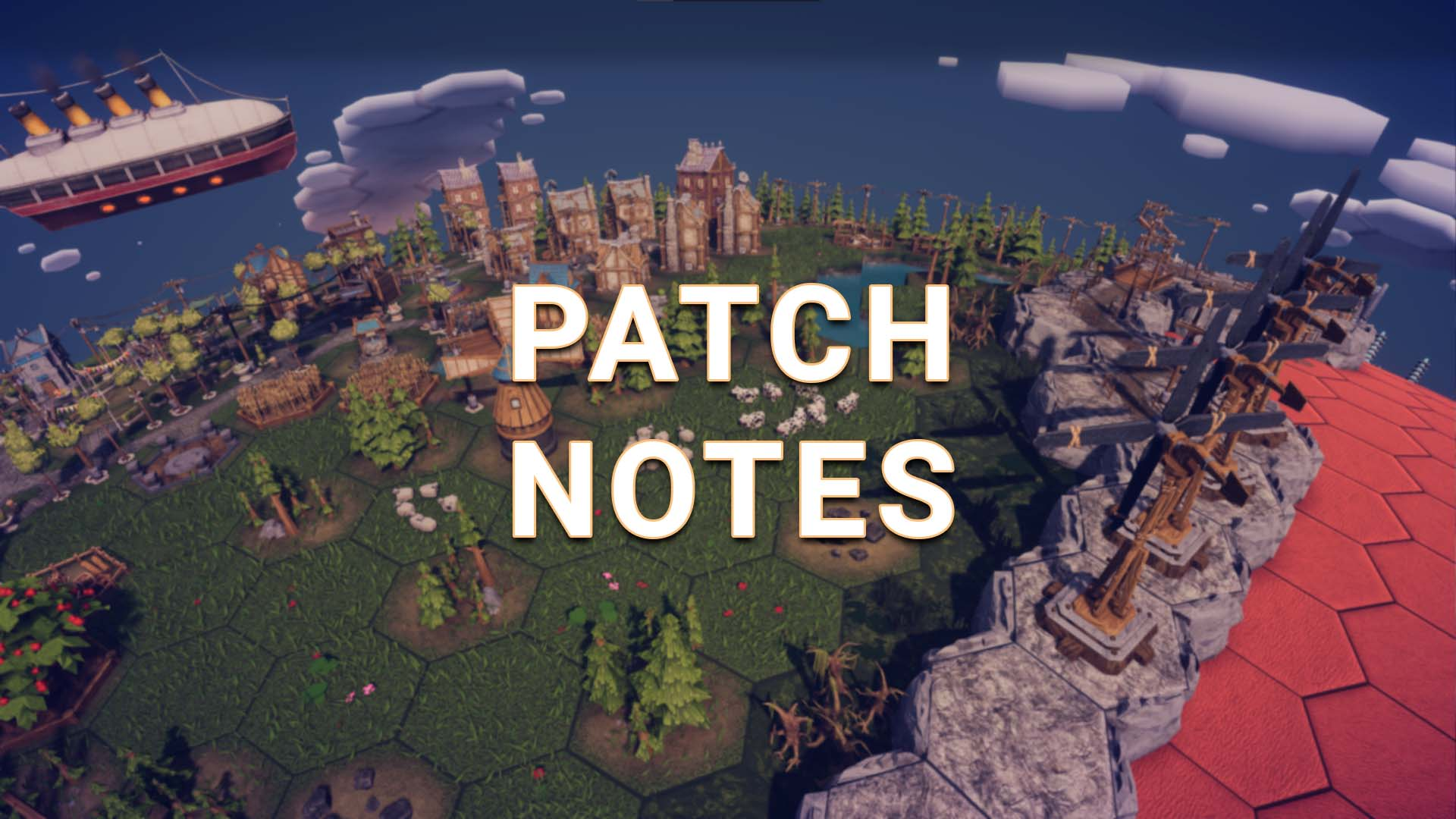 The Planet Editor Update Patch Notes