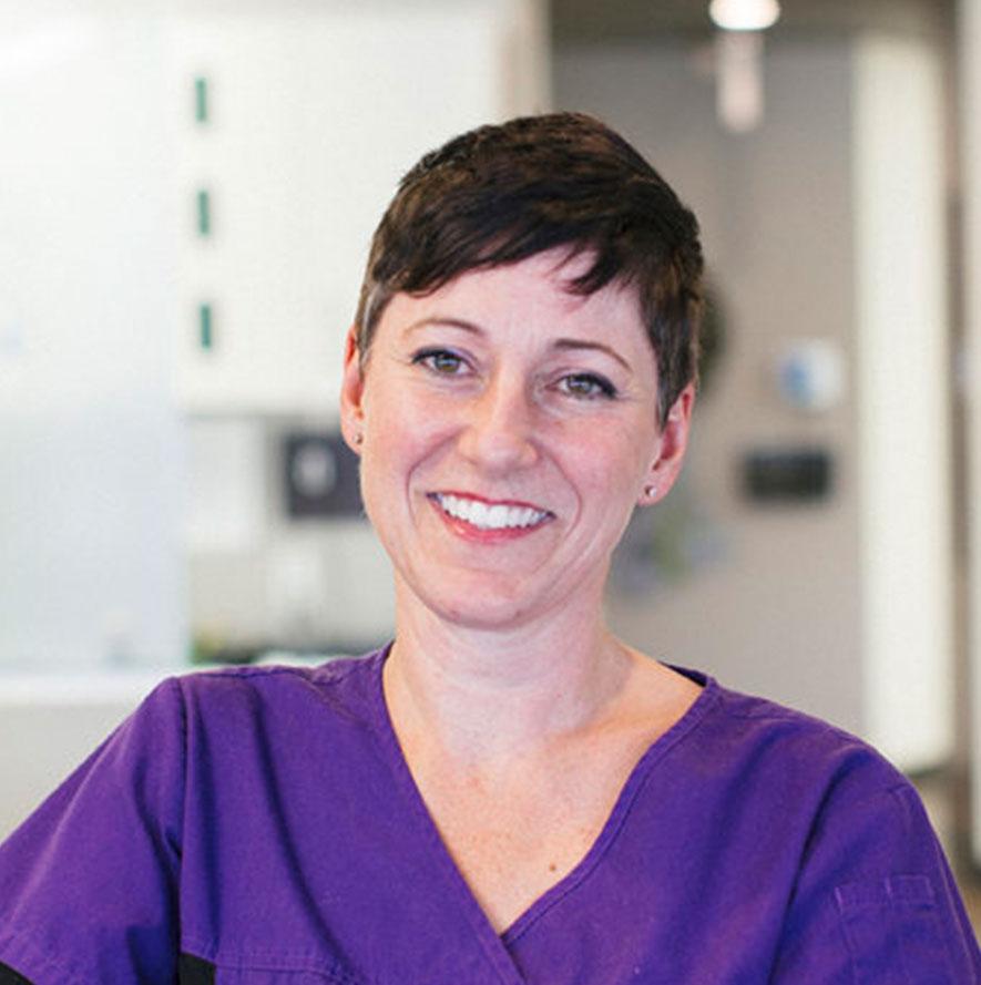 Headshot of Kim, Dental Administrator