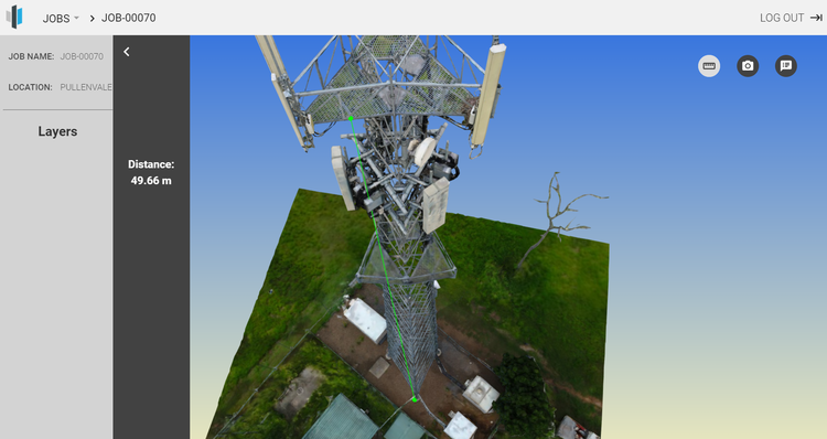 Figure 3 Pullenvale Telco tower