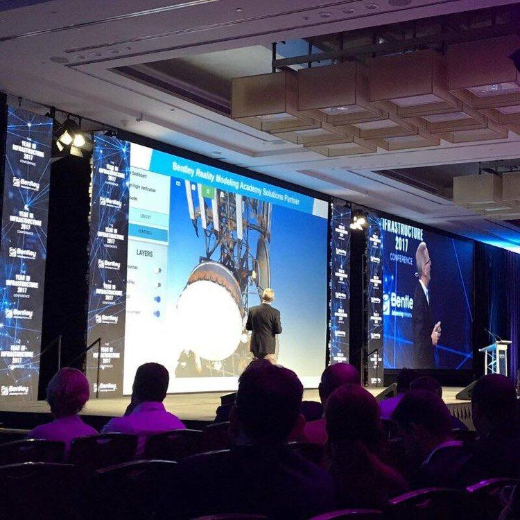 Greg Bentley Showcasing SiteSee Technology in his Keynote speech