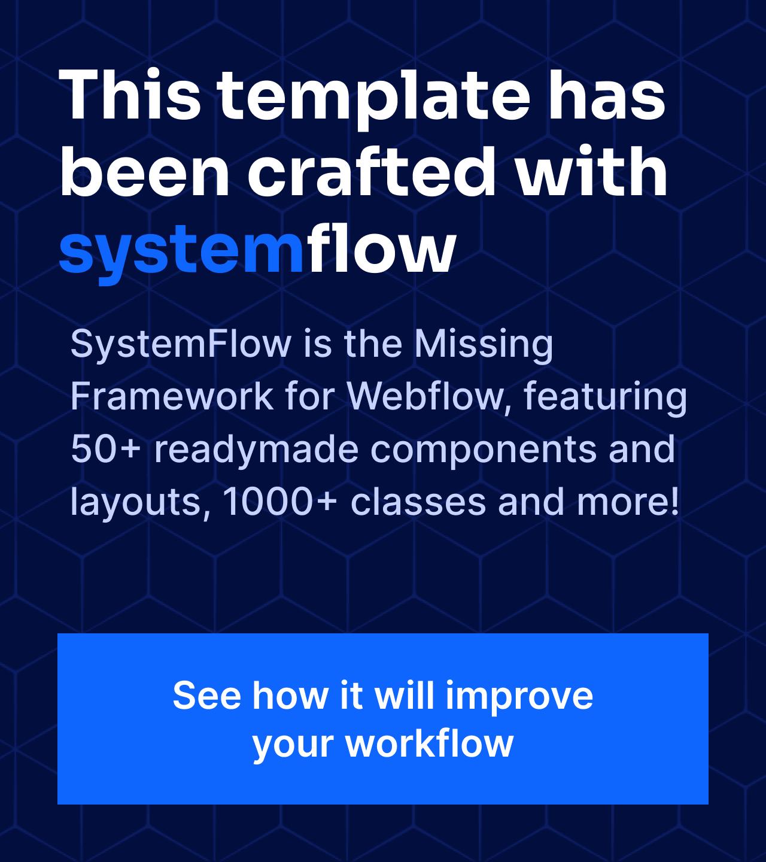SystemFlow banner