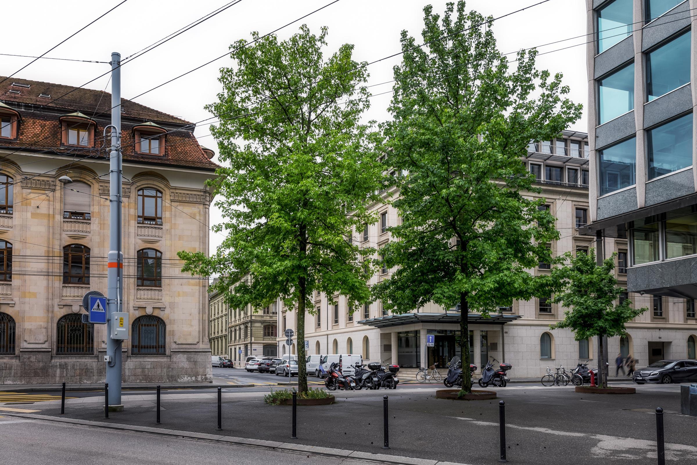 Geneva, banking street