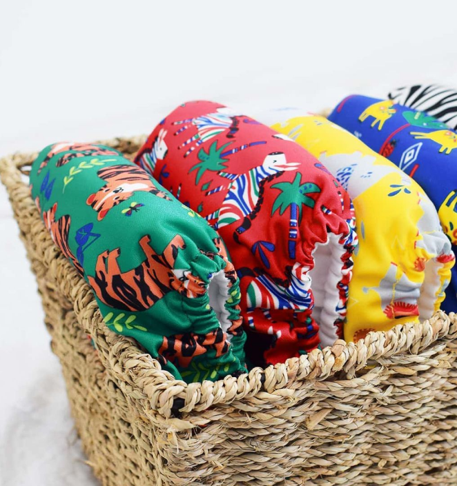 Renewable nappies from Bambino Mio