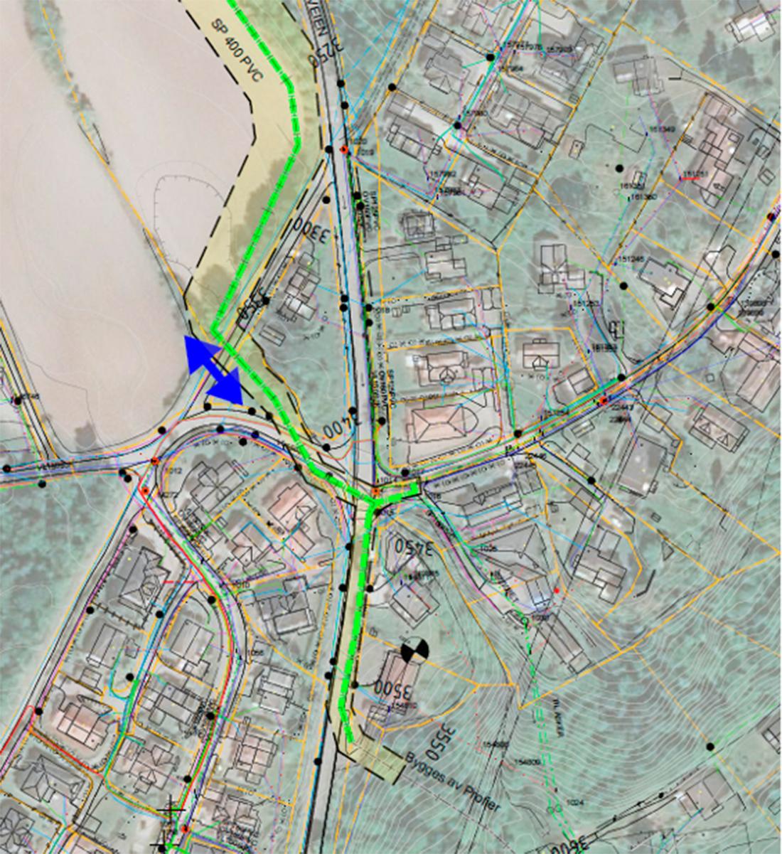 trafikkavvikling kart