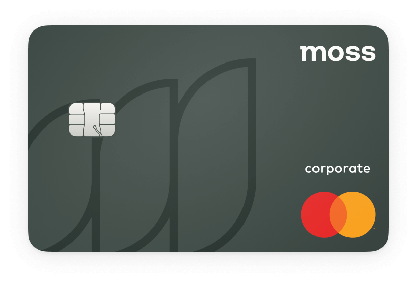 Startup credit card | Moss