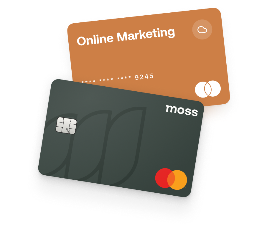 Moss Kreditkarte als Mastercard