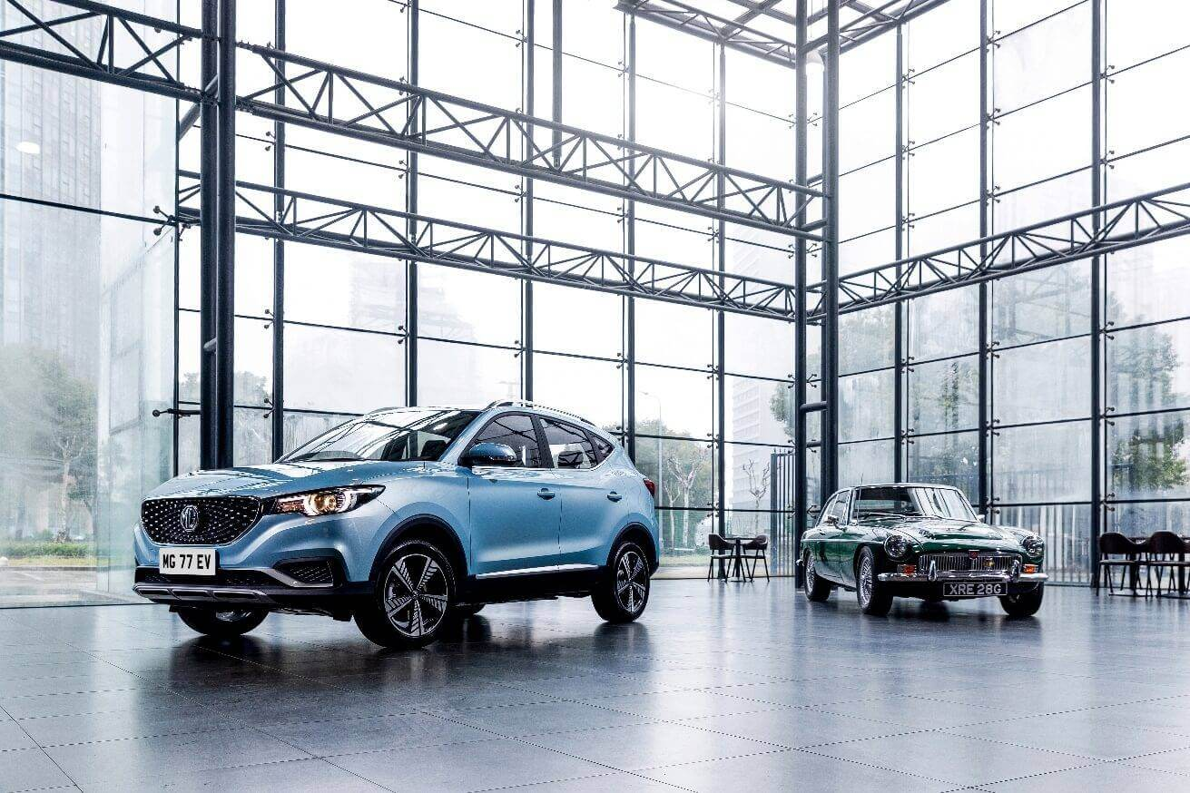 MG Motor Makes An Electric Return To Ireland