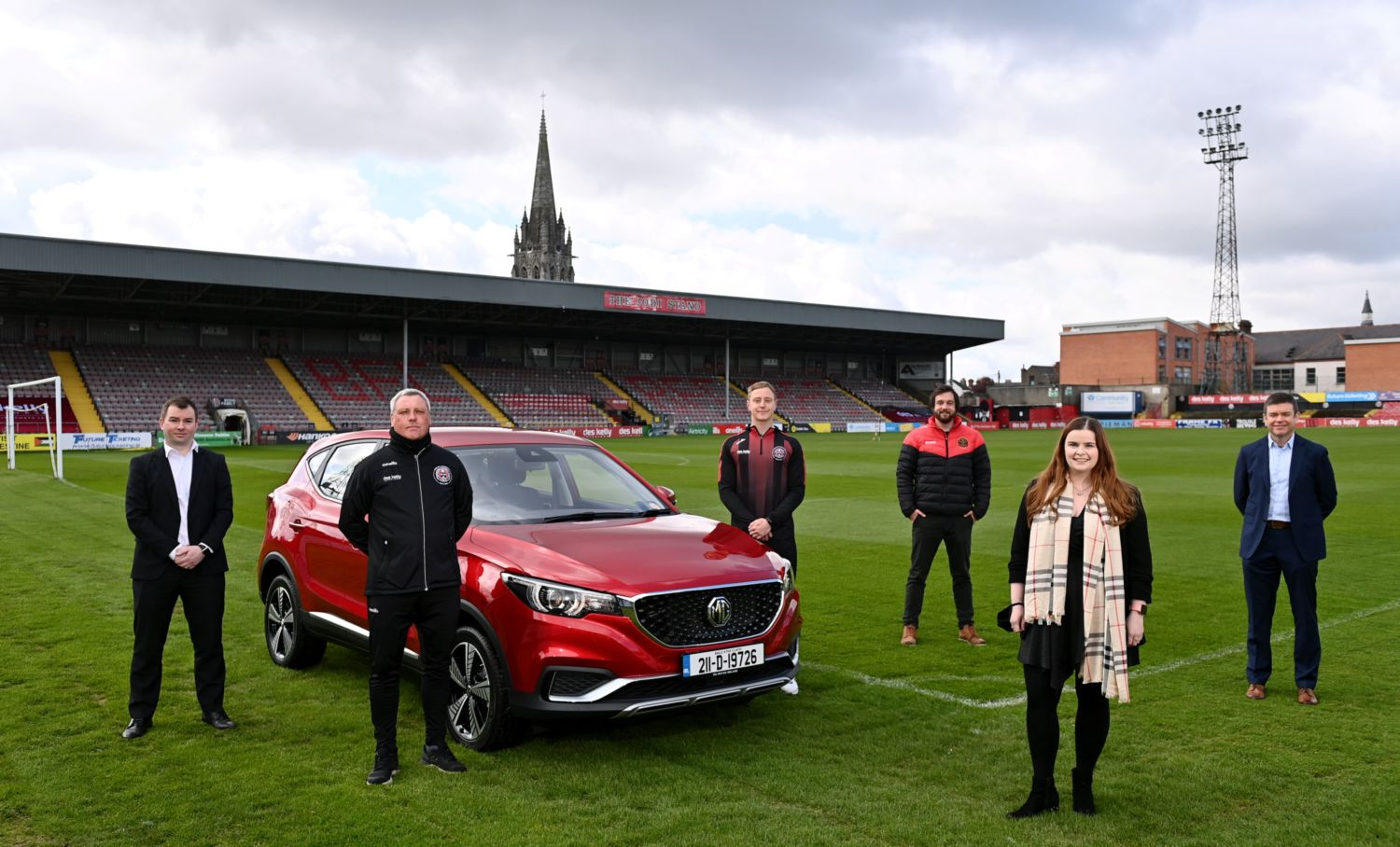 MG Motor Ireland Named The Official Electric Vehicle Sponsor of Bohemian FC