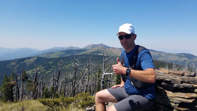 Alpine Running Guides Summit Photo