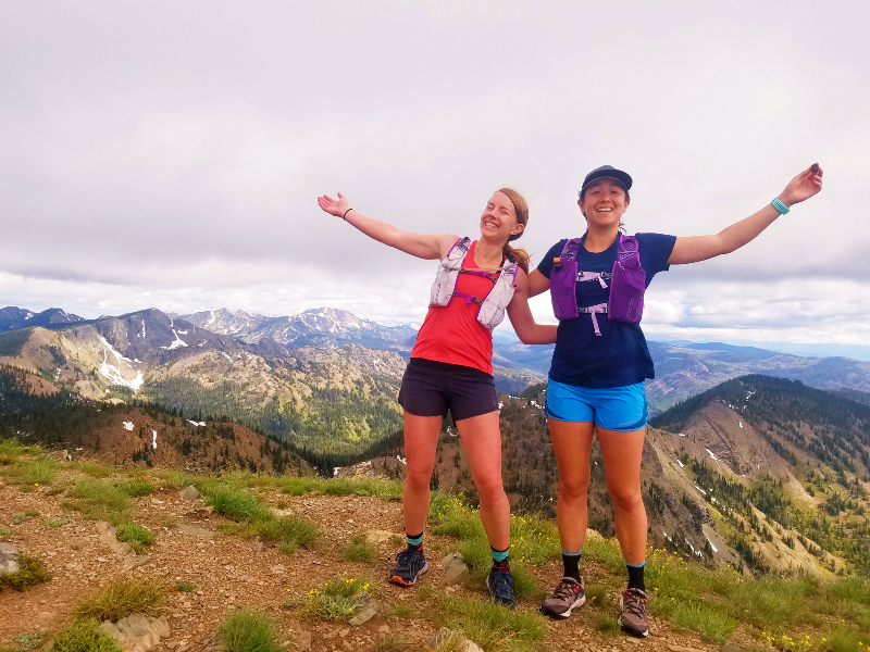 Mountain Summit with Alpine Running Guides