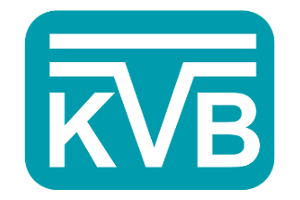Logo des Unternehmens KVB.