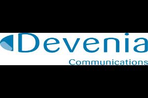 Logo des Unternehmens Devenia.