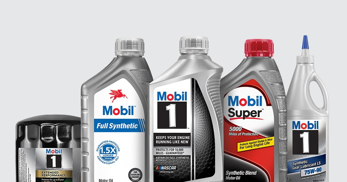 Oljer og smøremidler fra Mobil