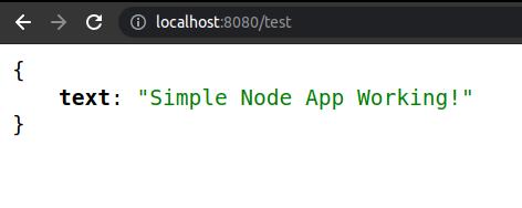 Simple Node App
