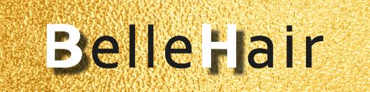 Logo kapsalon Belle Hair - de Belleman, Dommelen