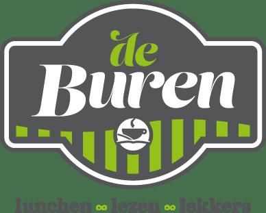 Logo De Buren lunchen, lezen, lekkers - de Belleman, Dommelen