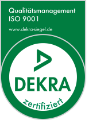 DEKRA ISO 9001 Logo