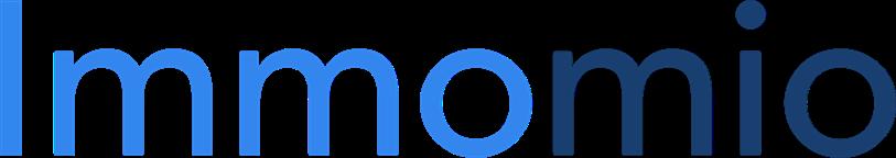 blaues Logo der Partnerlösung Immomio