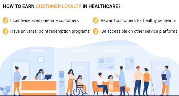 How to earn customer loyalty in healthcare?