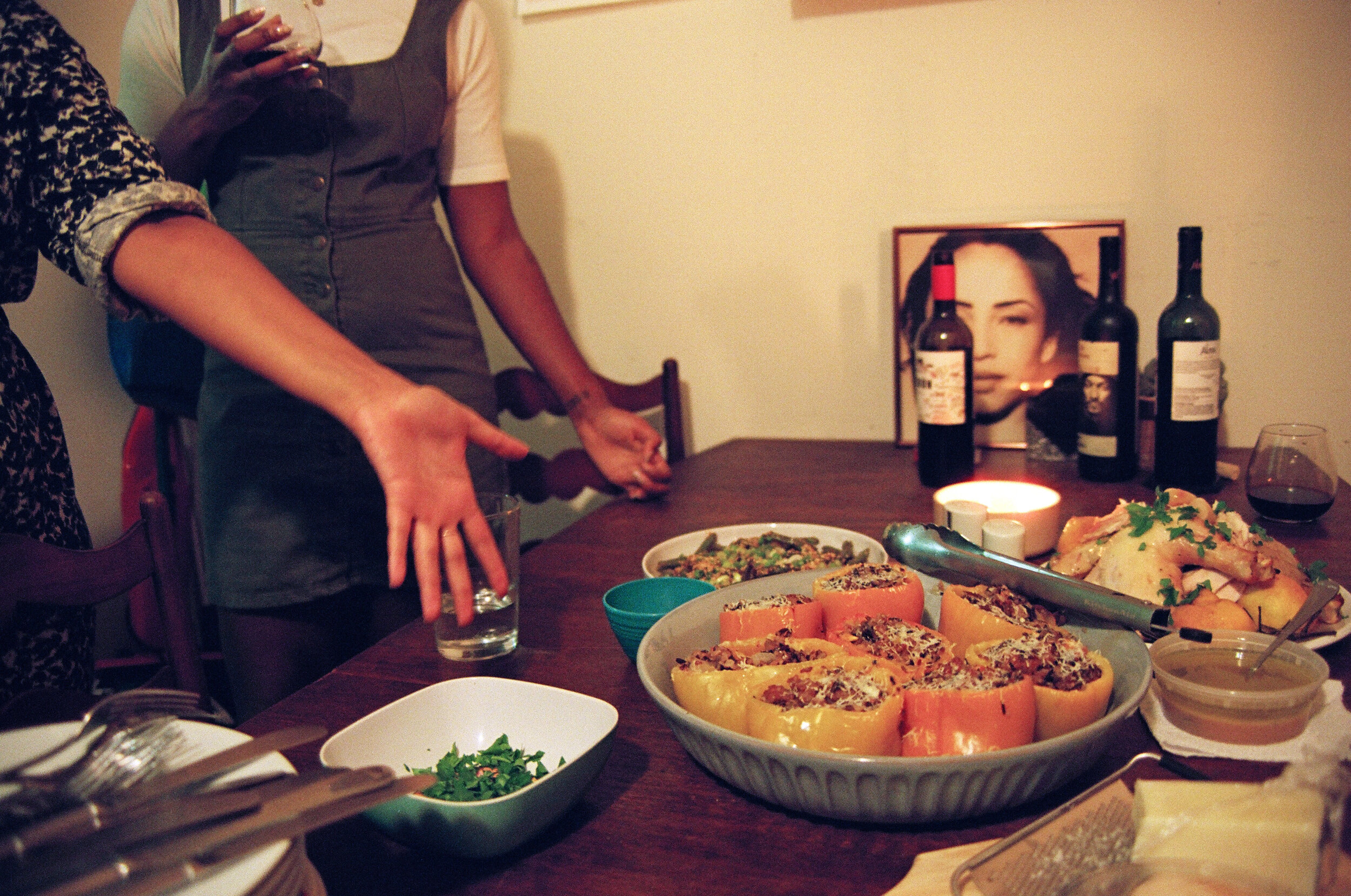 Black Appetit dinner - Time in This Time