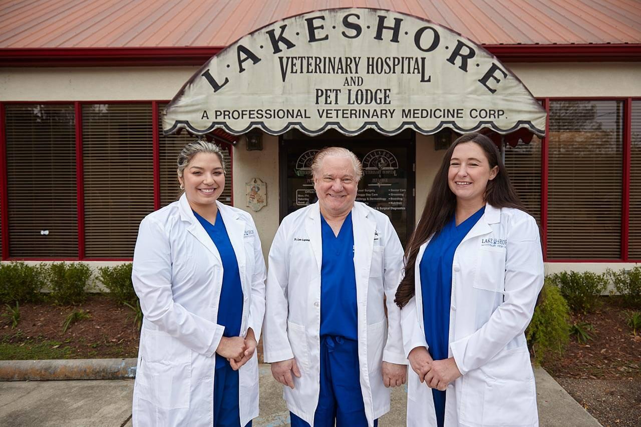 Lakeshore Veterinary Hospital Team