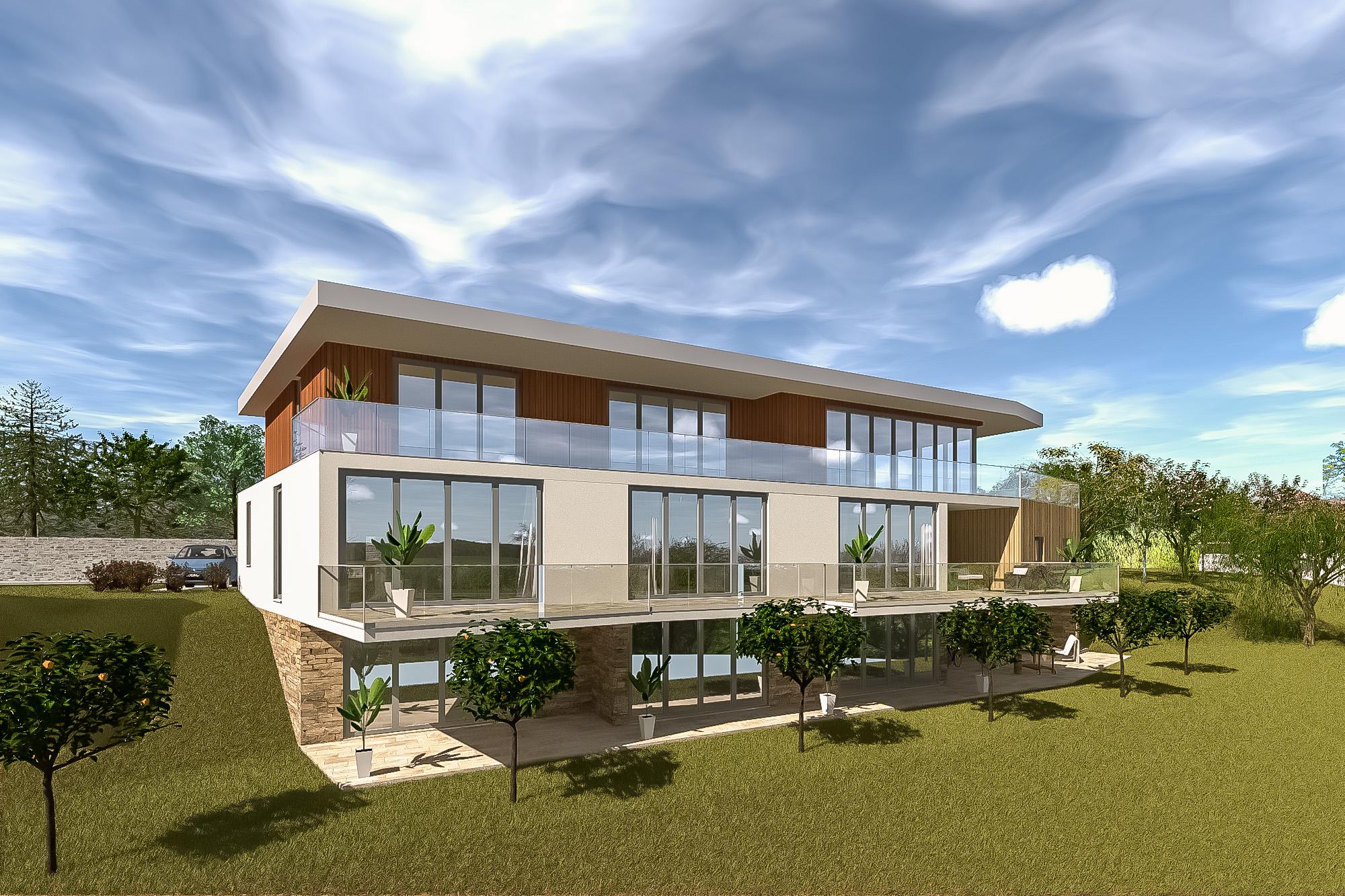 Villa am Südhang