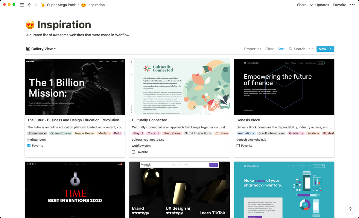 250+ websites Made in Webflow to inspire you.
