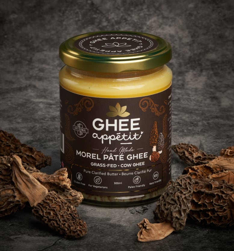 Morel Pâté Ghee