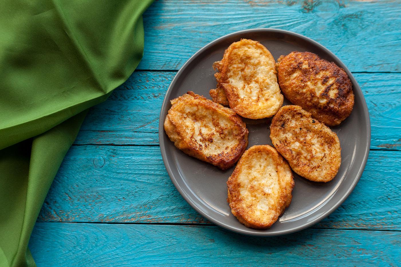 Cinnamon Ghee French Toast
