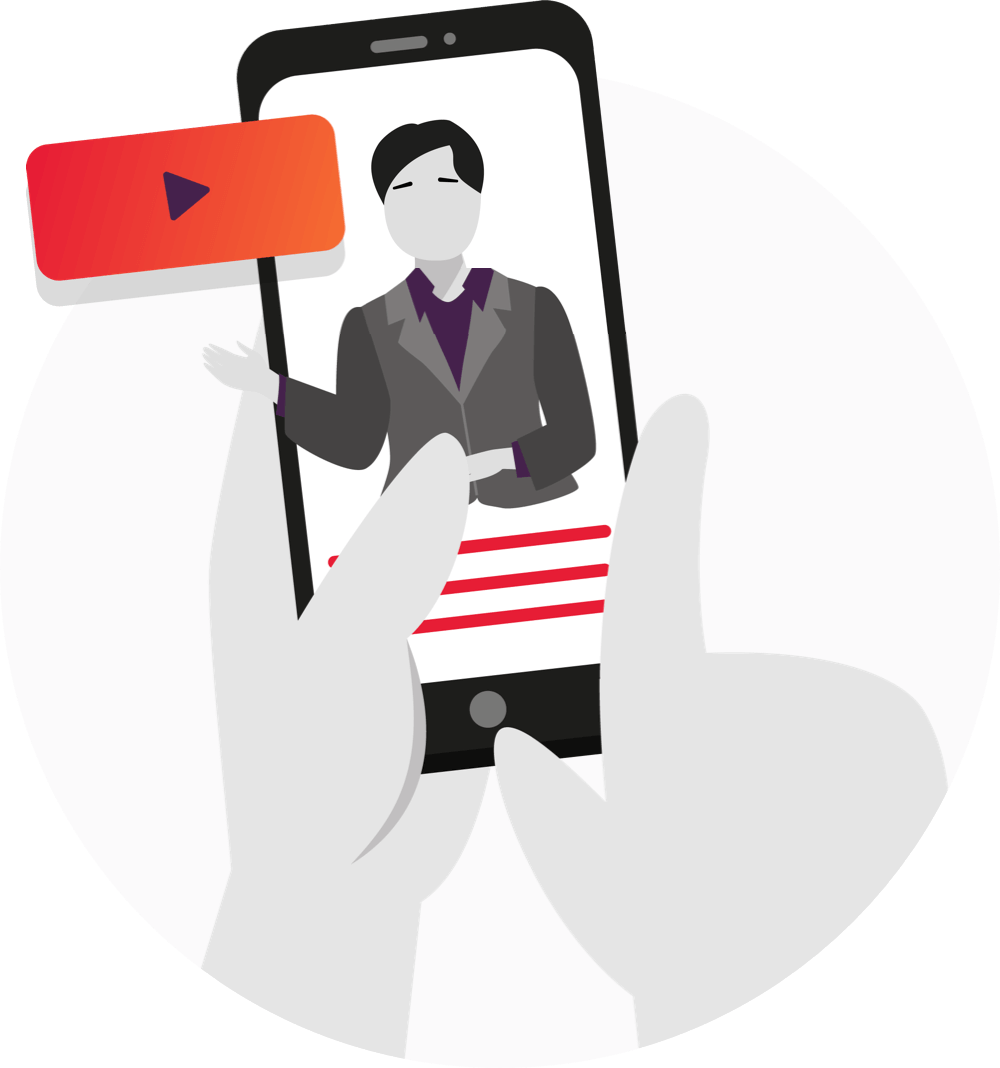 Online video vägledning