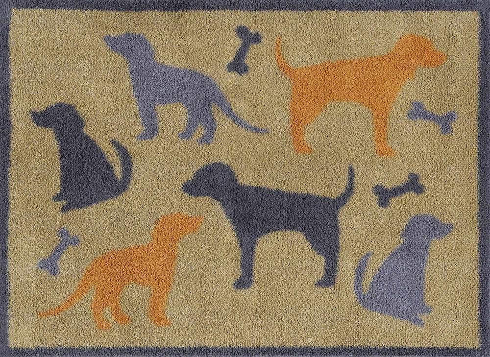 Dog and Bone Door Mat