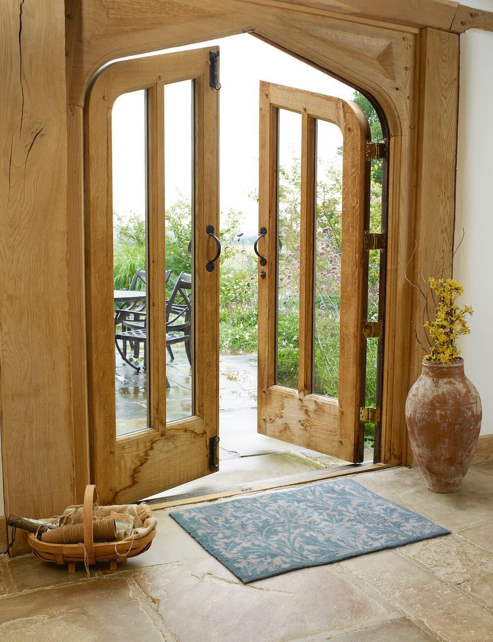 Thistle Green Door Mat