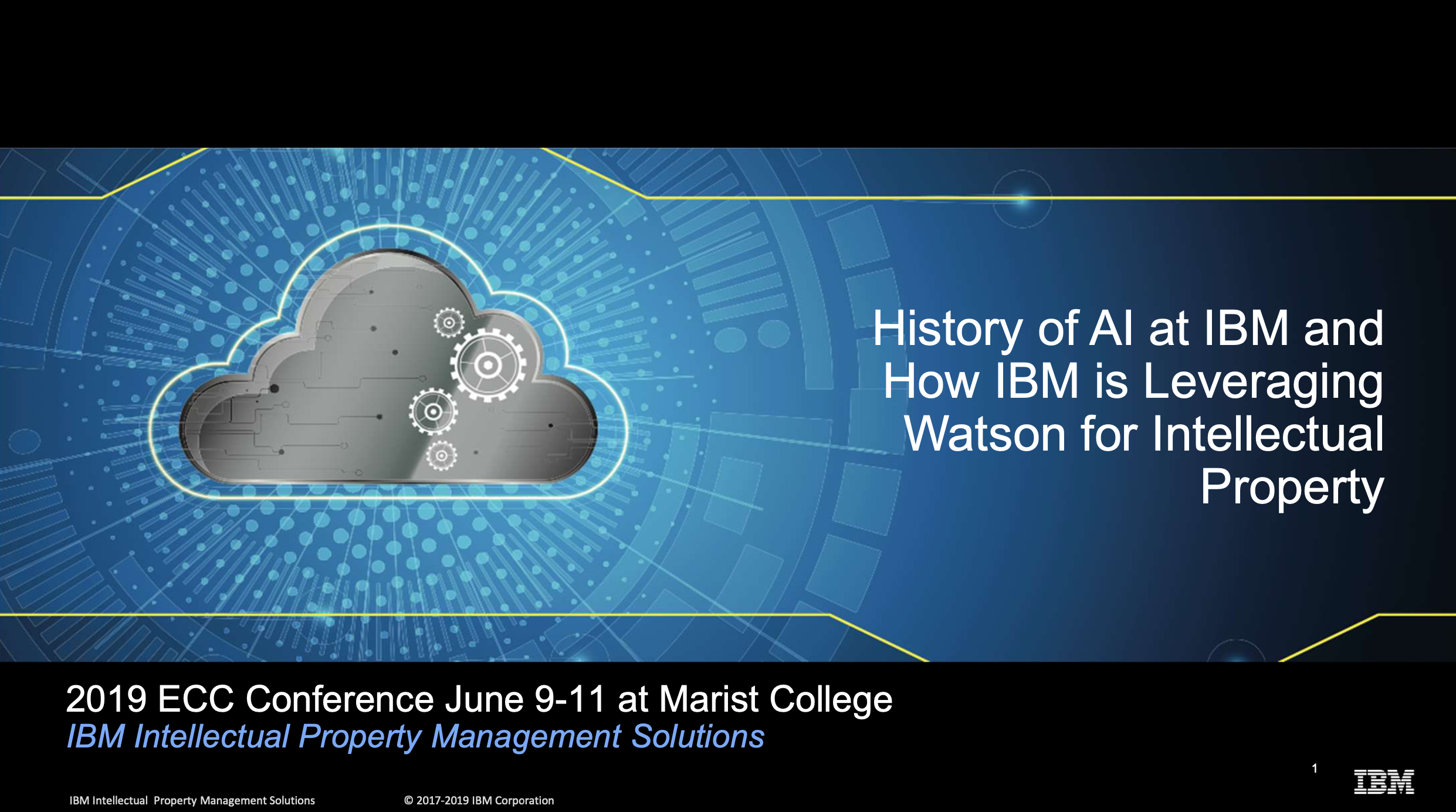 History of AI and How IBM is Leveraging Watson for Intellecutal Property