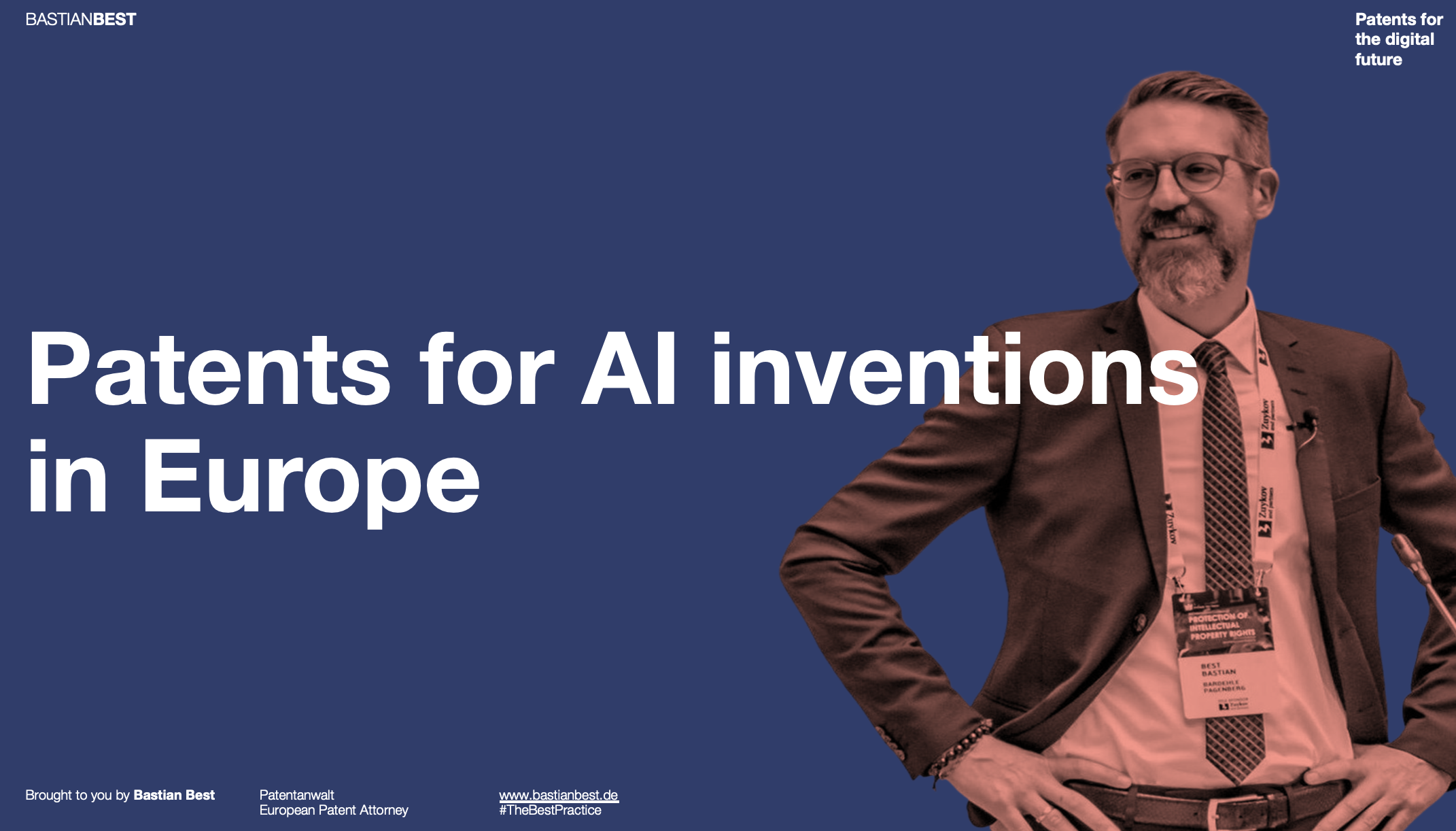 Patents for AI Inventions in Europe
