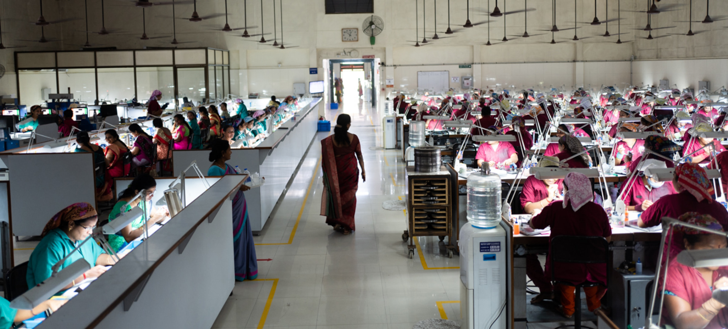 Diamond shop with empowered Indian women