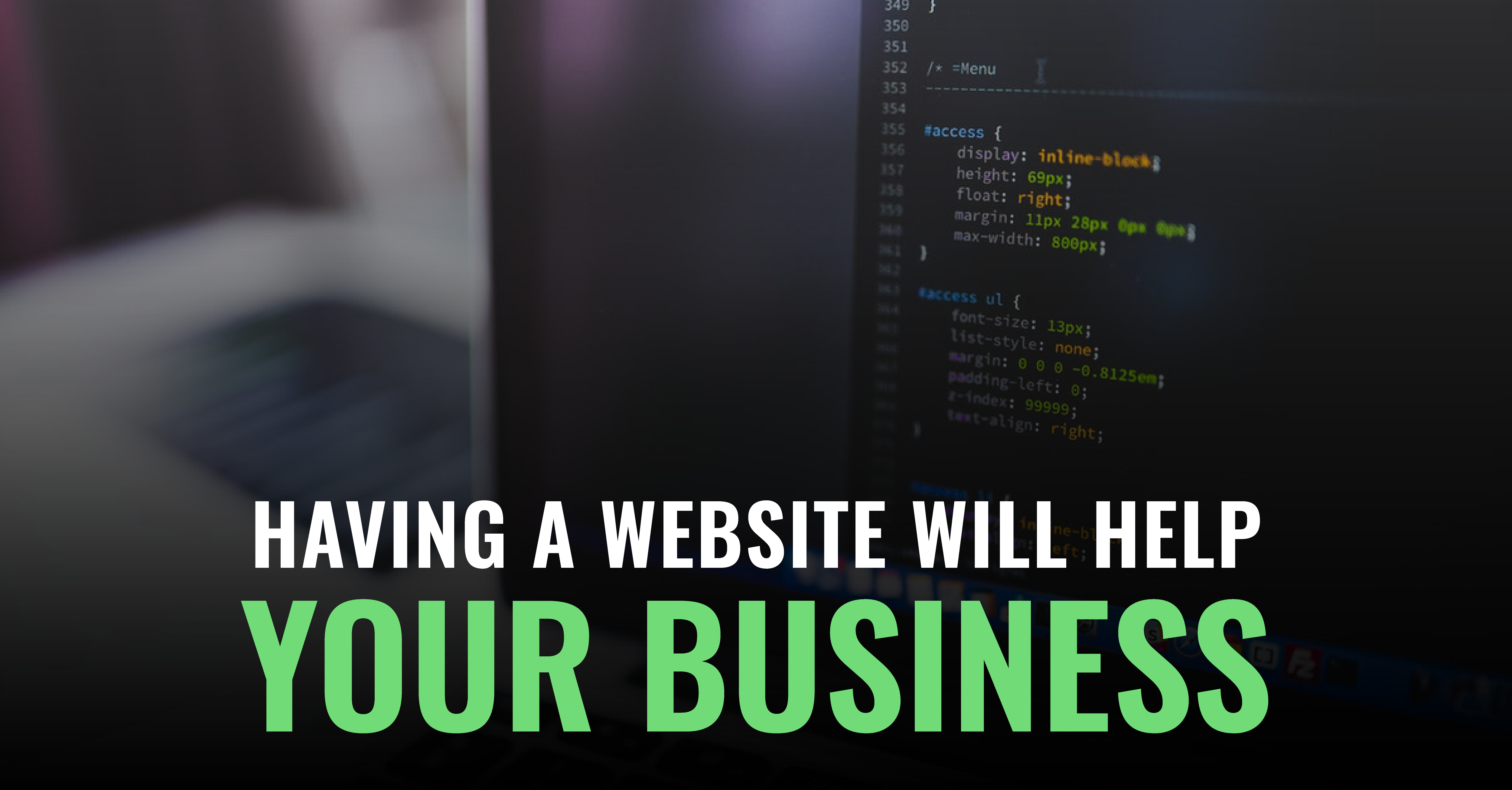 How Having A Website Will Help Your Business