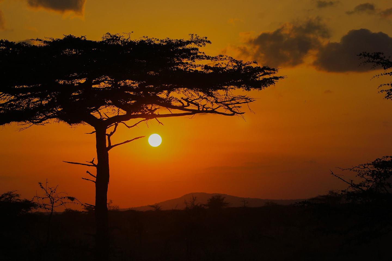 African Sunset 2