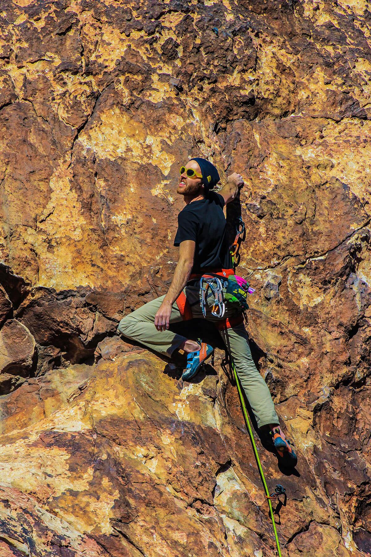 Dave Climbs
